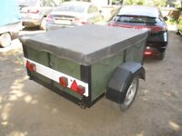 5-0 X 4-0 GOODS TRAILER (UNBRAKED).......WITH COVER....