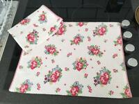 Two Sets of 2 placemats, table mat Zara home, new!