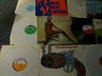Raggae LPs,Rare reggae records