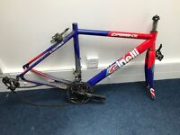 Cinelli Experience road bike frame, forks and groupset