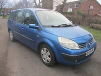 2004 54 RENAULT GRAND SCENIC 1.5 DCI 7 SEATER FULL MOT 2 KEYS CD AIR CON DRIVES GOOD CHEAP PX SWAPS