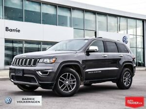 2018 Jeep Grand Cherokee Limited; Only 18,073km; AWD; Bluetooth