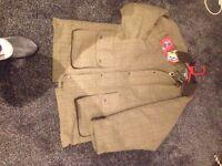 Men's brand new tweed hunting jacket , size xxl