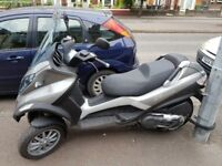 PIAGGIO MP3 400 LT which can be ridden on a car licence. Low mileage.