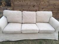 3 seater sofa 80£