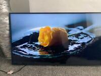 Samsung 43 inch 4K Smart QLED TV with Apple TV app Freesat HD