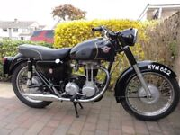 Matchless G3LS Classic motorcycle/motorbike 1960 350cc single cylinder