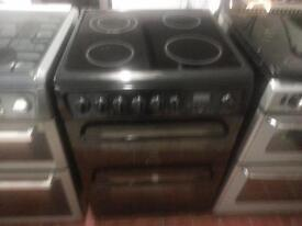 hotpoint black ceramic cooker 6cm