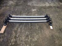 FORD TRANSIT CUSTOM FACTORY FOLDING ROOF BARS (with Stoppers)