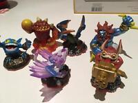 Skylander Giants figure bundle