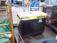 pramac p 6000s generator