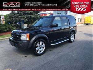 2008 Land Rover LR3 V8 HSE NAVIGATION/PANORAMIC ROOF/LEATHER