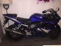 Yamaha r6 600cc 2005
