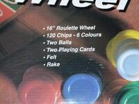 """ROULETTE with 16"""" wheel"""