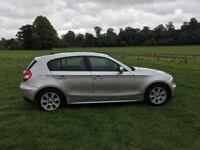 BMW 1 Series 116i Silver MOT till Sept 2019 Good Service History