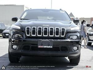 2016 Jeep Cherokee FINANCE MANAGER DEMO | NORTH | 4X4 | BACK UP  Cambridge Kitchener Area image 2