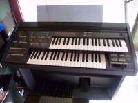 Yamaha upright piano 88 keys with table