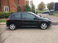 2004 Peugeot 206 XSI 1,6 litre 3dr 2 owners