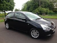 2005 HONDA CIVIC VTEC SE 1.6 #FULL SERVICE HISTORY#2 LADY OWNERS #RECENT CAMBELT & WATERPUMP CHANGED