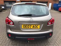 nissan qashqai automatic low mileage in excellent condition