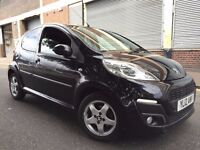 Peugeot 107 2012 1.0 12v Allure 5 door 1 OWNER, 1 YEAR WARRANTY, £0 YEAR ROAD TAX, LOW MILEAGE