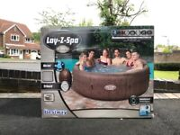 Lay Z Spa St Moritz 7 Person Inflatable Hot Tub NEW - MANCHESTER COLLECT OR UK DELIVERY