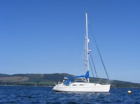 Reluctant sale of a much loved Bavaria 34 yacht. ( 6 birth)