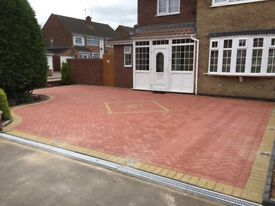 Landscaping and driveway specialists-block paving-flagging Gravel turf concrete and tarmac Adam