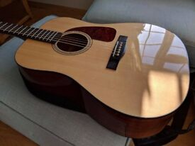 Fender CD-140s Natural Acoustic Guitar - Mint condition-liked the idea but didn't have the ability!