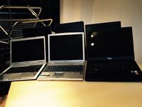 Laptops joblot x 6/ Spares or Repairs/hp/dell
