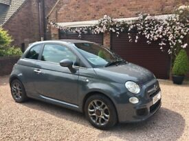 Fab Grey Fiat 500s great 1st car real character!