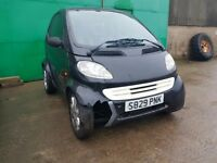 Smart Car 1998 Model 3Dr Hatchback LEFT HAND DRIVE 600cc Petrol SPARE OR REPAIR