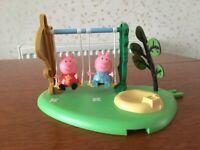 Peppa Pig Outdoor Fun Swing