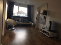 1 Bed large newly decorated F/F flat with Garden and Parking , Tolworth Road KT6 7TA