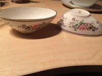 Chelsea Manor bone china staffordshire avacado dish