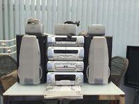 Technics Hi Fi and speakers