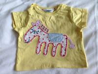 Baby Boden size 0 - 3 months t shirt