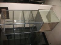 Mirrored Display Cabinet with light