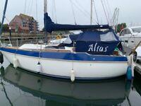 27ft Sailing Boat Yacht
