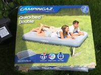 Inflatable double bed - electric operation