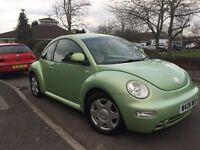 Volkswagen Beetle 2.0ltr Drive away £600 ONO