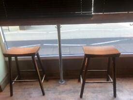 Industrial metal table legs x 6