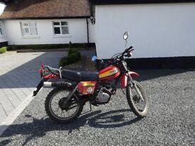 Honda xls 125 1979