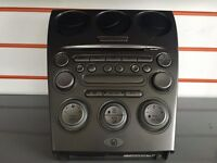 GENUINE MAZDA 6 CD PLAYER CLIMATE CONTROL CENTER CONSOLE P/N GJ6G66DSXE02