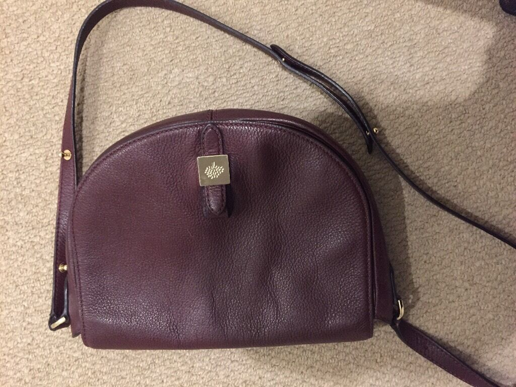Tessie Satchel Oxblood Mulberry bag