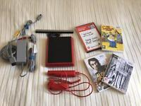 Wii Mini Red with 4 games