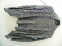 Grey & White Fleck Waterfall Cardigan Size 16