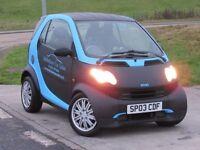 MCC CITY 0.7 PURE SOFTIP 2d AUTO 6 Months Parts & Labour Warranty Low Mileage Carbon Matt Blue Wrap