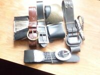 Collection of ladies Belts size 16/ 18