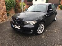 2008 BMW 1 SERIES AUTOMATIC 118D M SPORT 2.0 SE DEISEL 1 YEAR MOT FULL SERVICE HISTORY